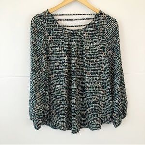 Papermoon | Flowly Long Sleeve Blouse Size Large
